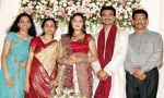 South actress Karthika Marriage Engagement Photos